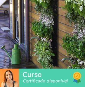 Curso - Jardins verticais e hortas urbanas